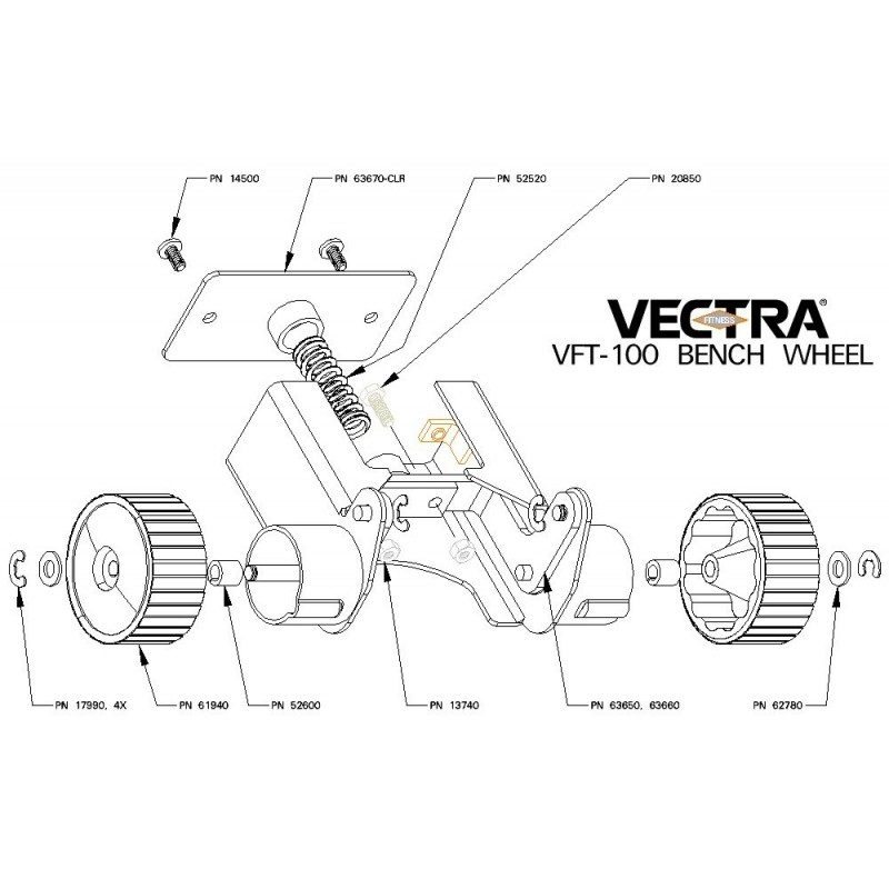 Vectra Fitness Parts LLC